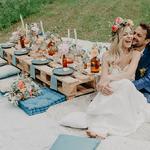 Idées pour un mariage bohème en pleine nature en région Centre
