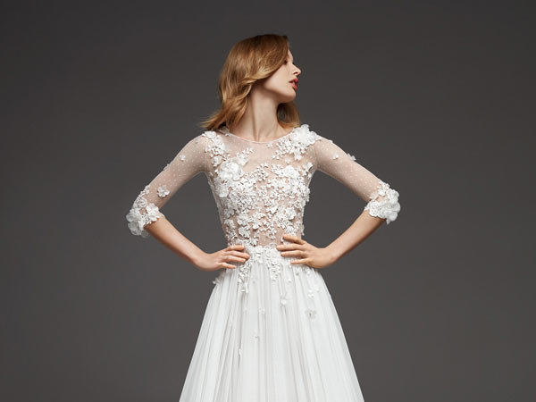 Pronovias collection in bloom 2019