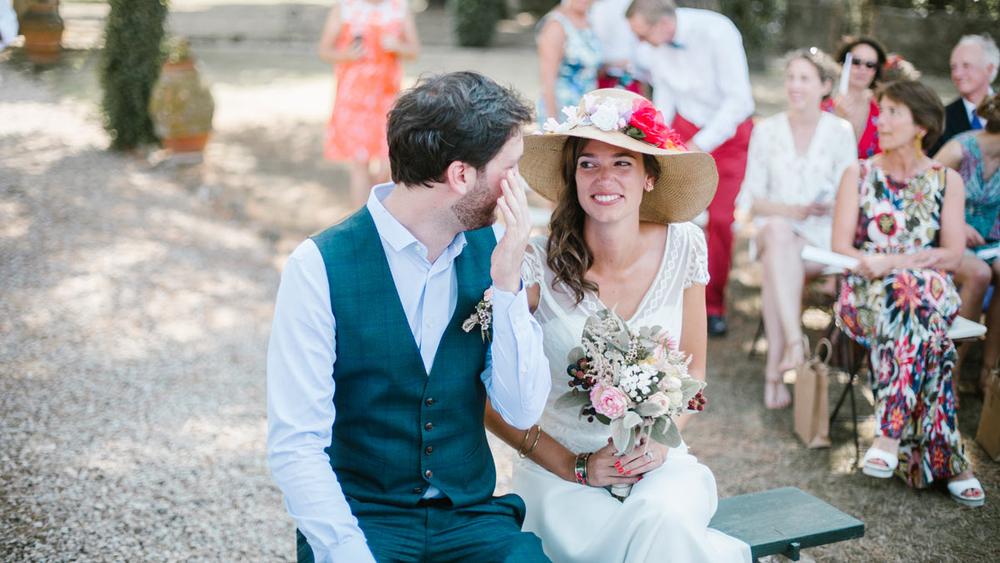 Pascaline & Amaury : un mariage champêtre fleuri en Italie