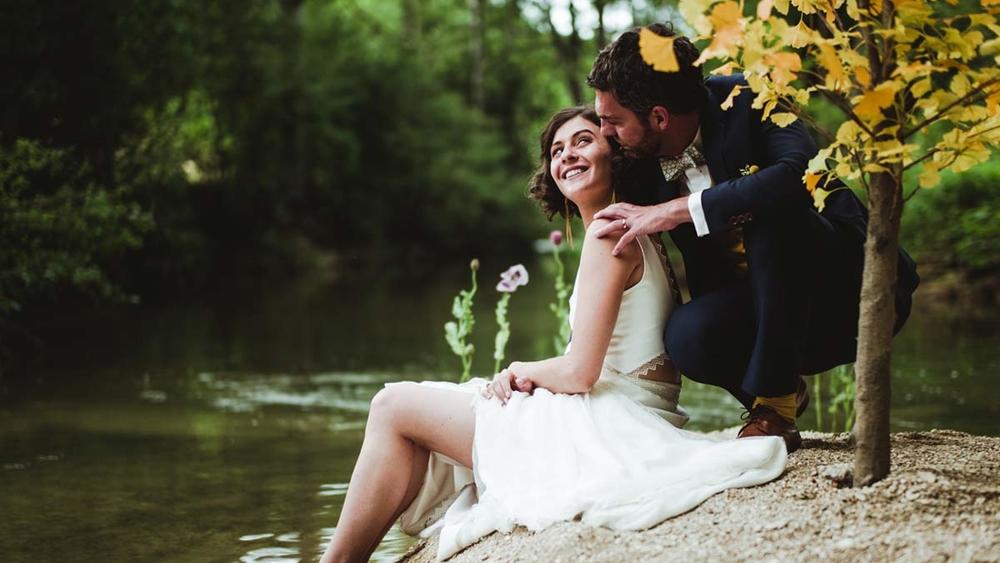 Elsa & Sébastien : un mariage dans les bois en Bourgogne
