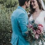 Eline & Hans : un mariage romantique chic en région PACA
