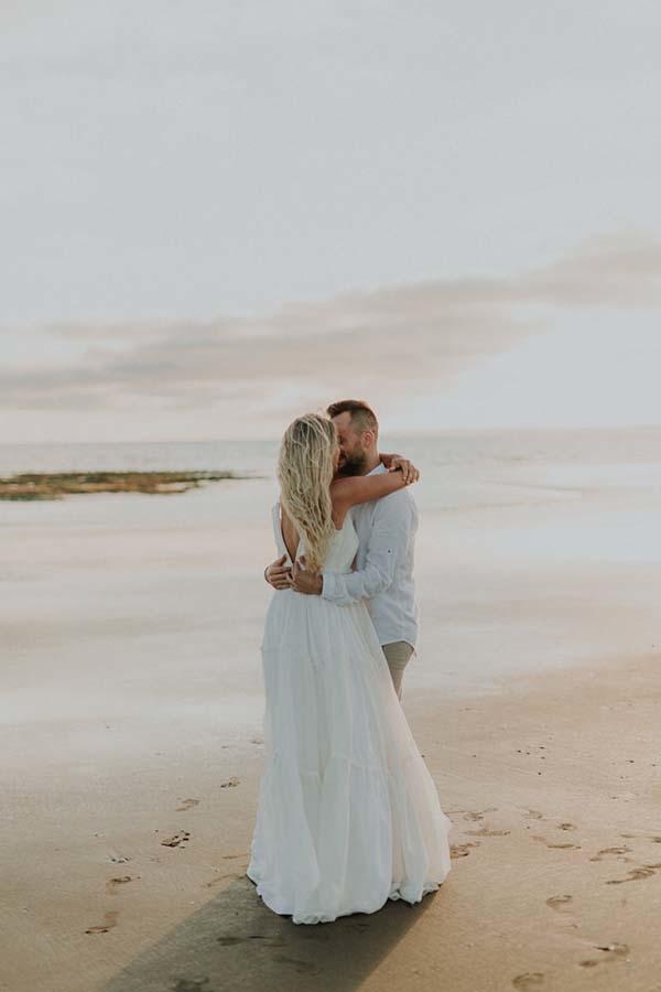 mariage en bord de mer