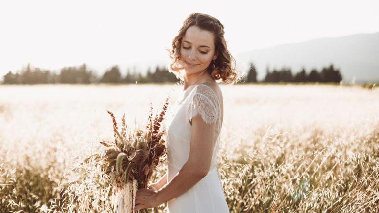 (Français) Idées pour un shooting mariage au milieu des champs de blé