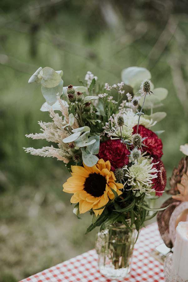 mariage bohême poetique pleine nature
